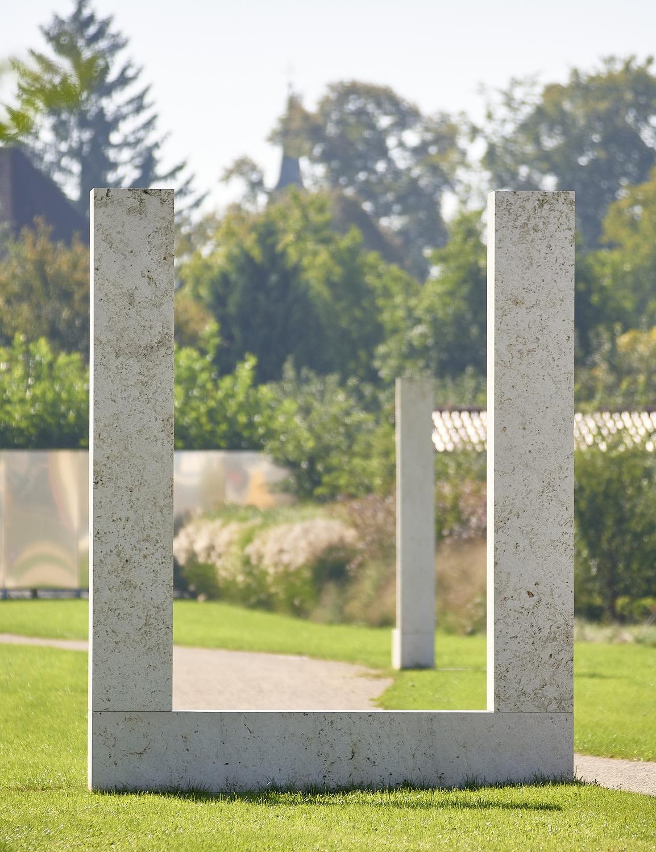 Skulpturenfolge - Stadtpark Burghausen