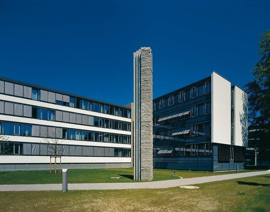 Strafjustizanstalt Augsburg Granitmonolith