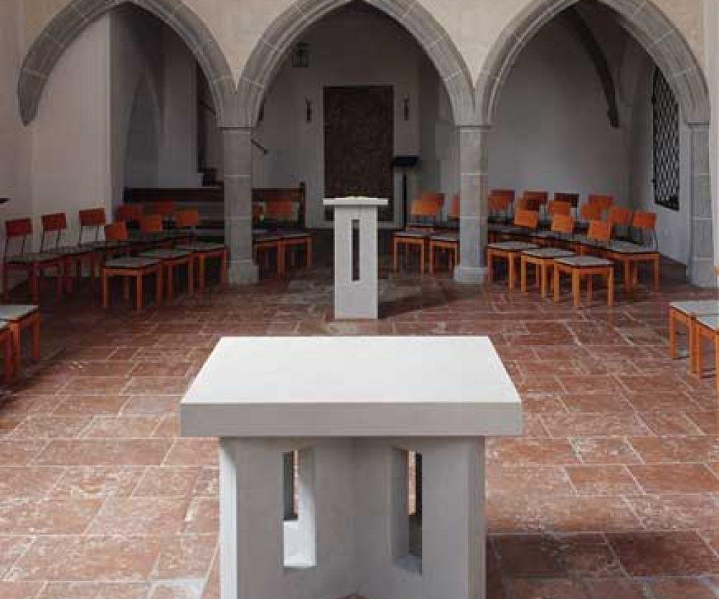 Altarraum / Heilig Geist Burghausen
